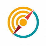 Compass icon for values-based leadership foundation of integrity consulting services